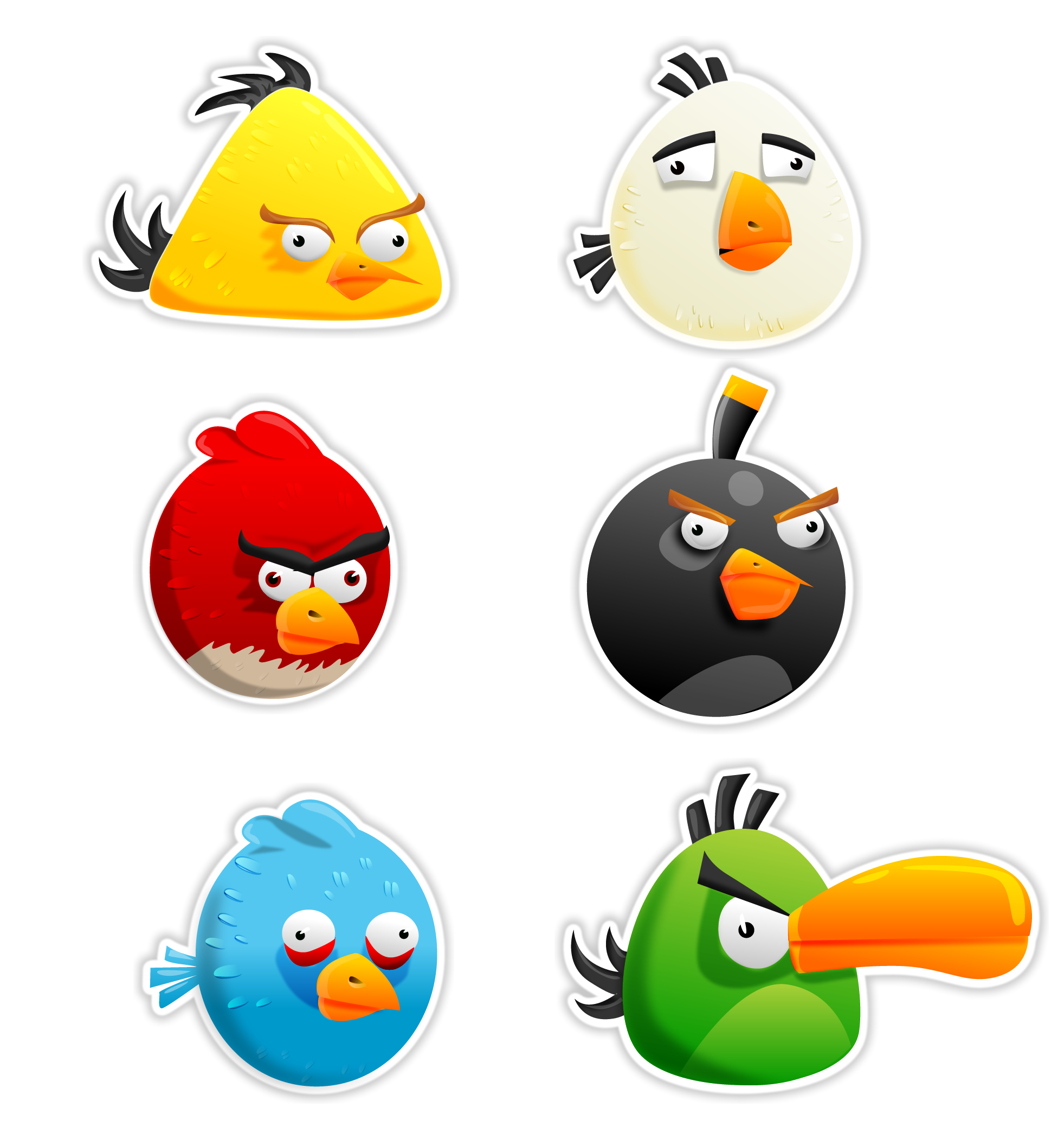30+ Eye Catching Angry Birds Pictures